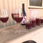 Shiraz juice samples